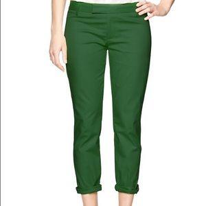 Gap Slim Cropped Pant - Size 00